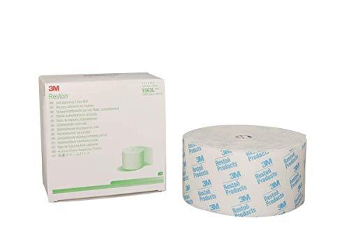 3M Reston Self-Adhering Foam Products 1563L, 5 Rolls (Pack of 5) by 3M