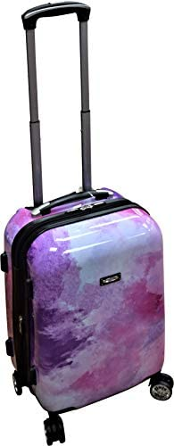 Kemyer 788 Vintage Series 20 Lightweight Expandable Spinner Luggage Marble