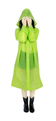 ColorDrip Women's Eco-friendly EVA Fashion Translucent Rainc