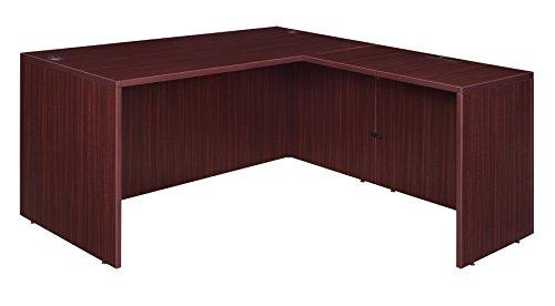 Regency L-shaped Desk - Regency LLDS713547MH with Return Legacy L-Desk Shell, 71
