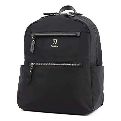 (Travelpro Luggage Platinum Elite Women's Backpack, Black, One Size)
