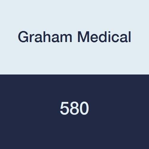 Graham Medical 580 Multifold Heavyweight Dispenser Towel, 9.25'' Width, 9.5'' Length, White (Pack of 4000)
