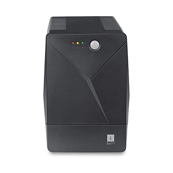 APC BX600C-IN 600VA/360W UPS System for Personal Computers, Home Entertainment +Stabilizer