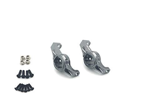 (ATOP RC Aluminum Caster Blocks Protal Drive Kingpin Bushings for Traxxas TRX-4)