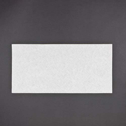 Package of 100 16-3//8 x 24-3//8 Royal Paper Filter Sheets