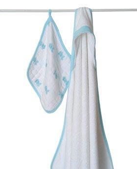 aden + anais capuche serviette et