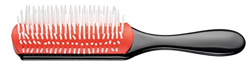 Denman Cushion Brush Nylon Bristles, - Bristle Nylon Hair Brush