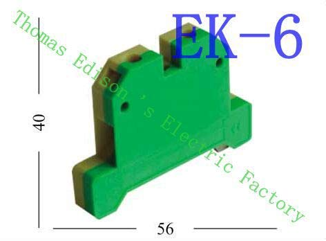 Davitu EK6/35 EK-6/35 Terminal Block Terminal Connector/Cable Connector/Wire Connector/Splice 100PCS/Pack