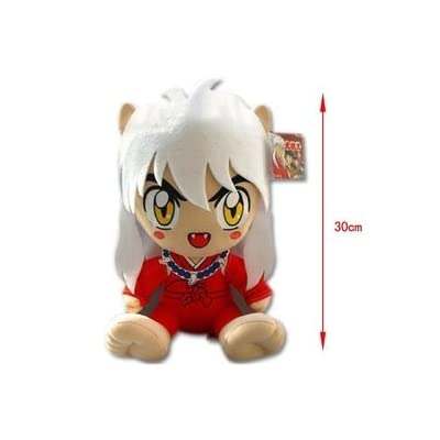 "Inuyasha sesshoumaru 12"" Plush Doll Toy KTWJ506: Toys & Games"