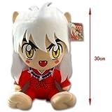 "Inuyasha sesshoumaru 12"" Plush Doll Toy KTWJ506"