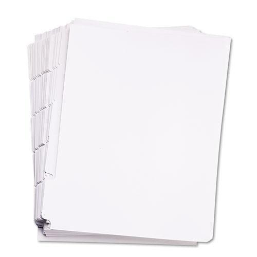 KLF84302 - 80000 Series Blank Side Tab Dividers by Kleer Fax
