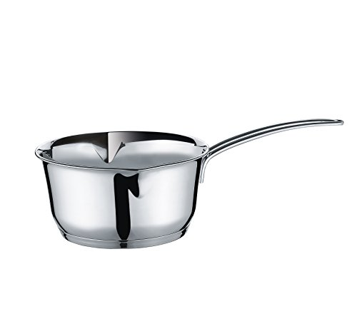 Stainless Warmer Clad Butter (Kuechenprofi Stainless Steel Saucepan with Clad Bottom, 1.4 Quart (Pack of 6))