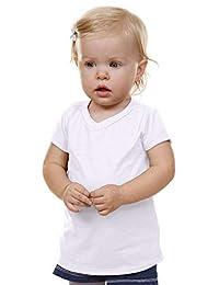 Kavio! Unisex Infants V Neck Short Sleeve
