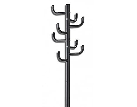Desconocido 404B27 - Perchero Pie Cactus Negro 177 Cm ...