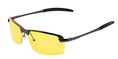 Night Vision View Square Rimless Glasses Goggles Metal Frame ¡­ (Best Night Vision Goggles For The Money)