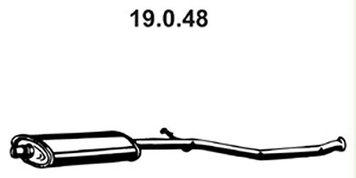 Ebers 19.0.48 Piezas de Montaje Eber Spächerex Haust Aftermarket