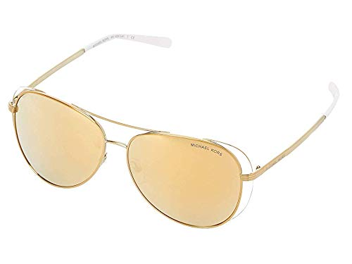 - Michael Kors Women's 0MK1024 Pale Gold/White/Liquid Gold One Size