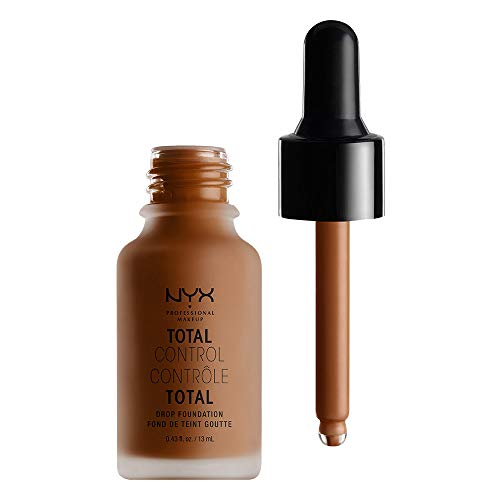 NYX PROFESSIONAL MAKEUP Total Control Drop Foundation, Deep Cool
