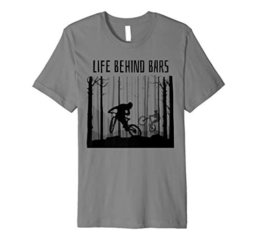 MTB MOUNTAIN BIKE T-Shirt BIKING Shirt BMX Jersey GREAT GIFT ()