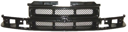 OE Replacement Chevrolet S10 Pickup Grille Assembly (Partslink Number GM1200413) Unknown