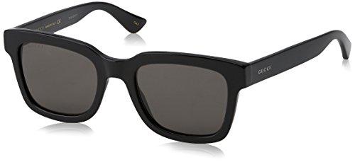 Gucci Fashion Sunglasses, 52/21/145, Black / Smoke / Black (Gucci Aviator-brillen)