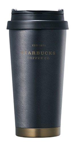 해외 한정 스타벅스 L《마부랏쿠헤리테지탄부라》《―》 스타벅스 Starbucks SS Elma black heritage tumbler 473ml   (블랙)