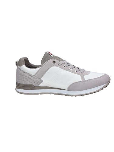 Colmar Travis Color 005 Men, Suede, Low-Top Bianco