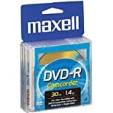 Maxell 8cm Camcorder DVD-R, 10-Pack (Packaging May Vary)