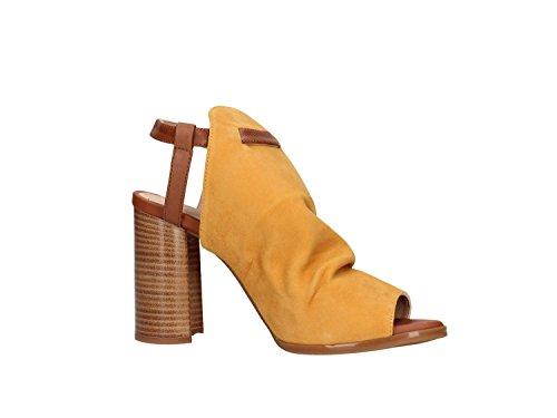 Unisa Women's Wadro_ks_st Open Toe Sandals Yellow lKIk8qXGSo