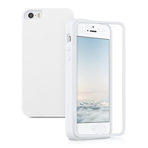 kwmobile TPU Silicone Full Body Protection Case for Apple iPhone SE / 5 / 5S in