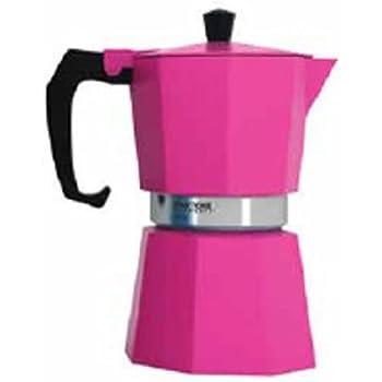 Charming Pantone Coffee Percolator 3 Cup Hot Pink