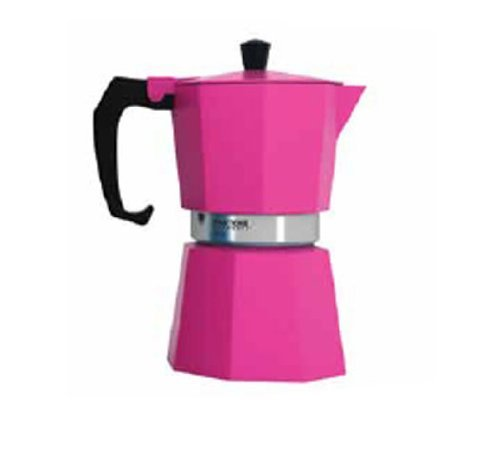 Pink Espresso Coffee Makers (Pantone Coffee Percolator 3 Cup Hot Pink)