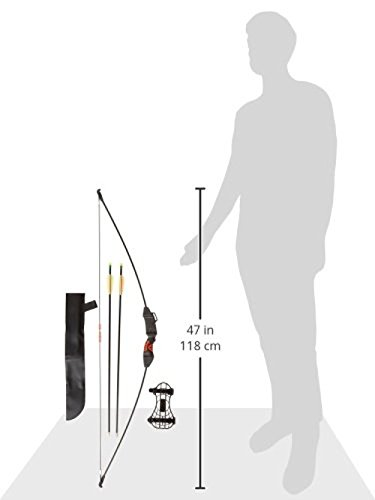 PSE Youth Explorer Recurve Bow, Black, 15-Pound, Right Hand/Left Hand by PSE (Image #4)
