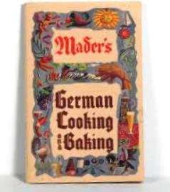 Mader's German Cooking and Baking