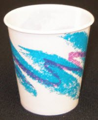 9226 Cups Waxed Paper Jazzy 5oz 1000 Per Case by Tidi Products LLC -Part no. 9226