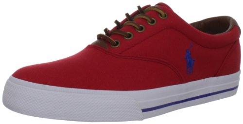 Polo Ralph Lauren Mens Vaughn Fashion Sneaker Rl2000 Red