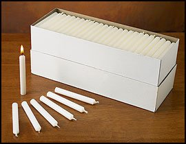 Candlelight Service Kit palm paraffin wax,g Cardboard Con...