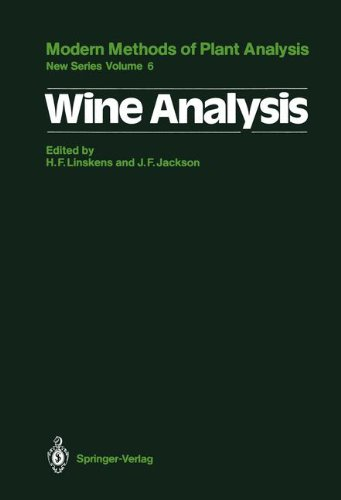 Wine Analysis (Molecular Methods of Plant Analysis)