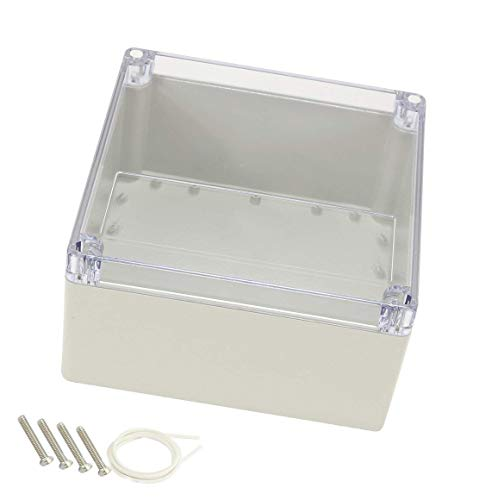 Underwater Box Junction (YXQ 192x188x100mm Clear Cover Junction Box IP65 Waterproof ABS Project Case Enclosure Cable (7.56 x 7.4 x 3.9 inches))