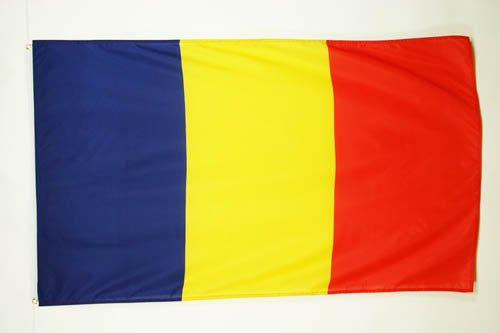 ROMANIA FLAG 2' x 3' - ROMANIAN FLAGS 60 x 90 cm - BANNER 2x3 ft - AZ FLAG