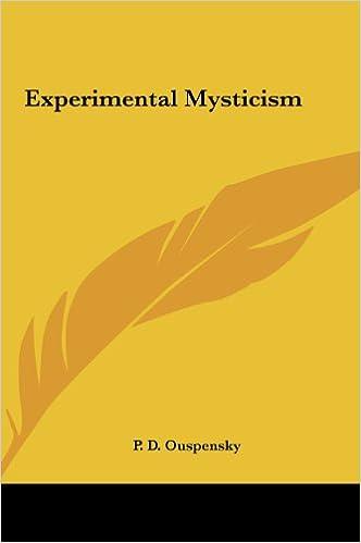Experimental Mysticism