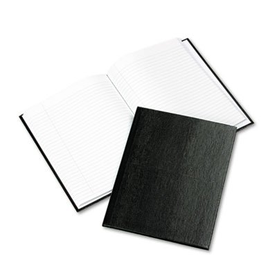 Exec Notebook, College/Margin Rule, 9-1/4 x 7-1/4, WE/BLK, 150-Sheets, Sold as 1 Each - Exec Notebook