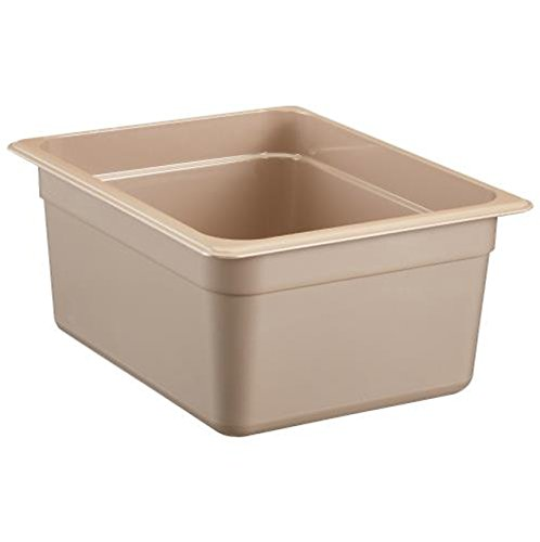 Cambro - Hot Food Pan, Plastic - Half Size 6'' Deep - Amber - 26HP-150 by Cambro