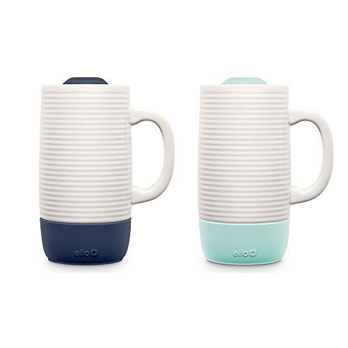 Ello Jane 18oz Ceramic Travel Mug 2 pack