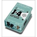 Radial Engineering J+4 Stereo -10dB to +4dB Line Driver