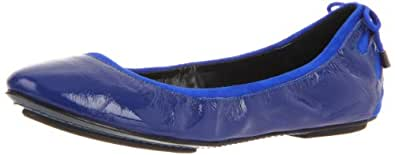 Maria Sharapova Collection by Cole Haan Women's Air Bacara Ballet Flat,Cobalt Patent,7 B US