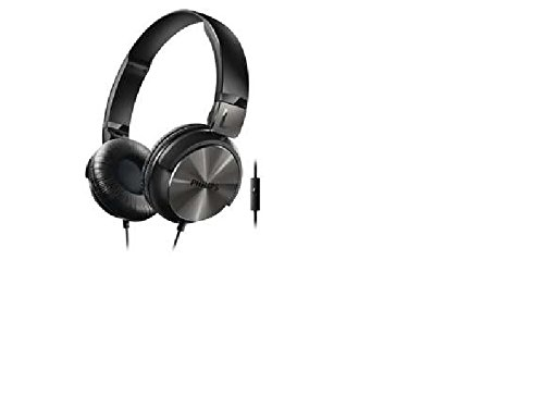 Philips SHL3195BK On-Ear Headphones with Mic (Black)