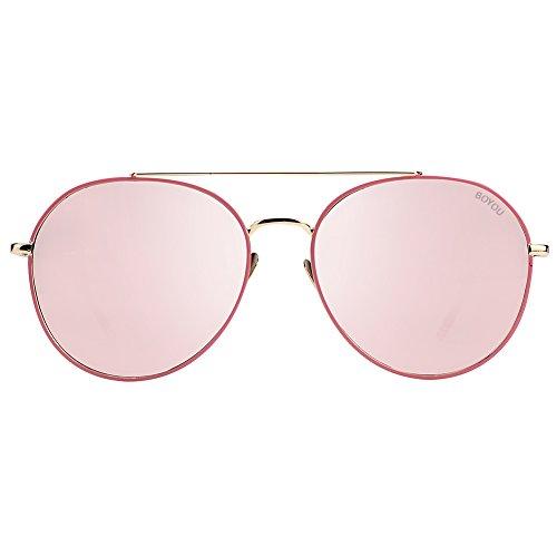 4e8843cd3d Mejor BOYOU Gafas de sol de moda, diseño elegante, protección UV ...
