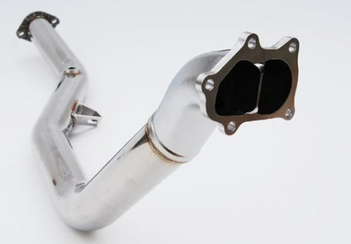 Invidia HS02SW1DPN No-Polished Down Pipe for Subaru WRX STI