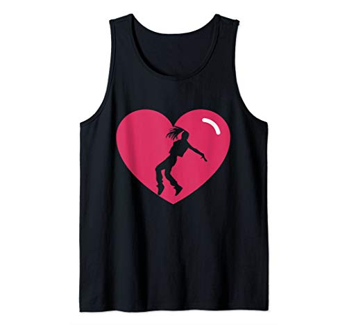 I Love Hip Hop Dance - I Heart Hip Hop Dancer Girl Dancing Tank Top (The Best Hip Hop Dancer)